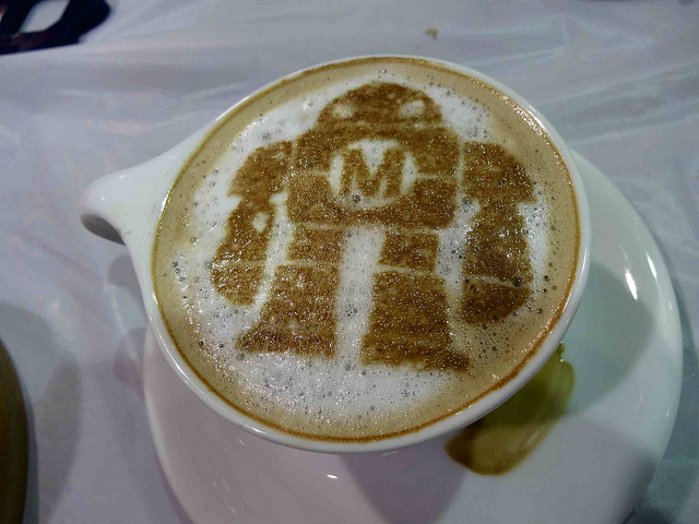 Latte Art Robot
