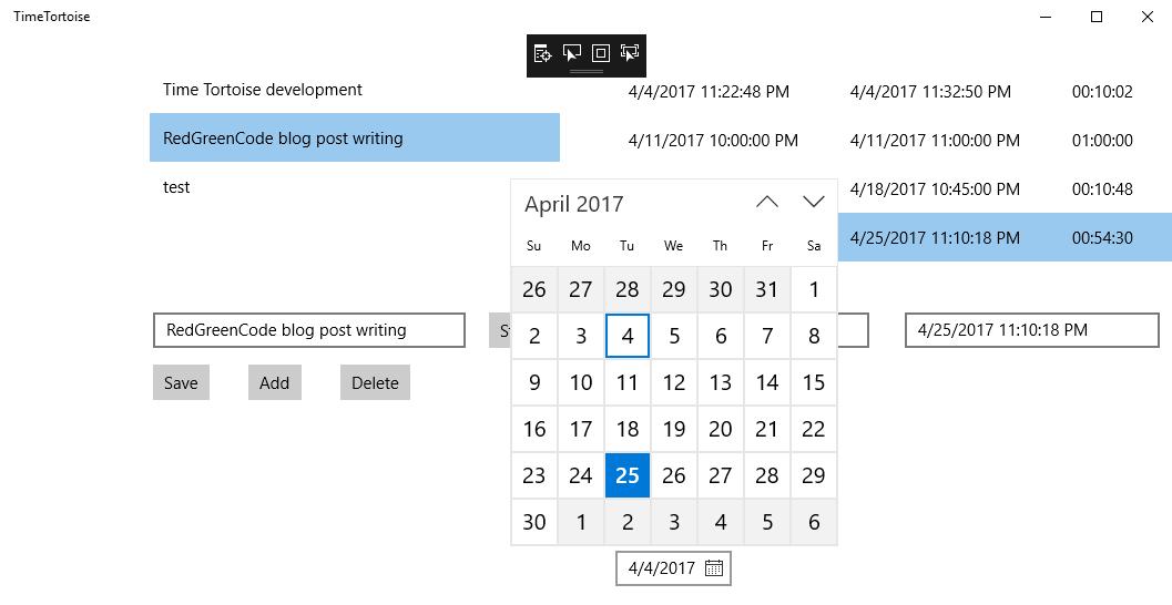 Time Segment Filtering
