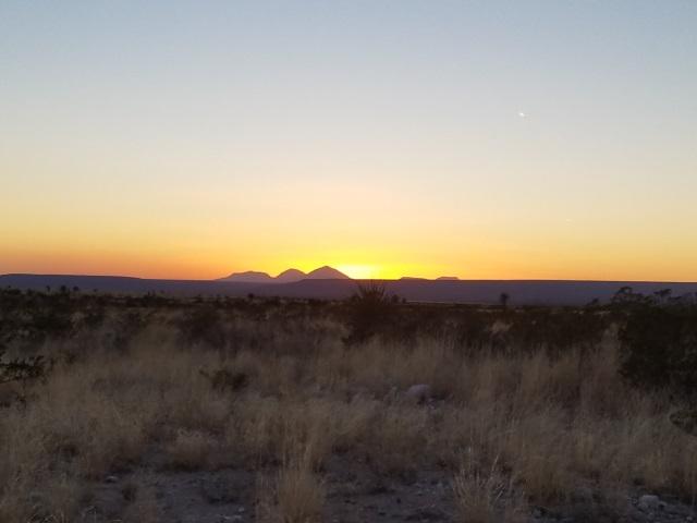 2017 Desert Sunset