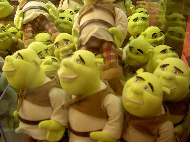 Multiple Shreks