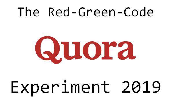 Quora Experiment 2019
